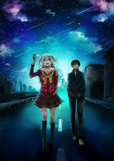 charlotte anime yuu and nao tomori wallpaper - Tìm với Google