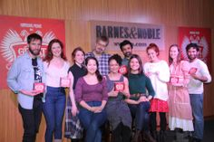 The cast at the album release celebration and performance at @Barnes & Noble! #nyc #theatre
