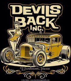 hot rod pin up drawings Logos Vintage, Vintage Signs, Vintage Posters, Vintage Art, Hot Rods, Rockabilly Art, Pin Up Drawings, Garage Art, Banners