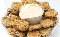 <p>These oven-fried pickles come together in just 25 minutes, meaning you can satisfy those cravings for crunchy snack foods in less time than it takes to drive to the nearest sports bar and order a basket.</p>