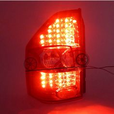 351.54$  Buy now - http://ali2j0.worldwells.pw/go.php?t=32314509550 - Tail Light For  Montero Pajero V73  2000-2008  Tail Lamp Montero Pajero LED Light 351.54$