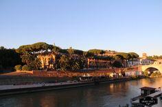 Isola Tiberina, Rome, Italy #idowhatiwanto