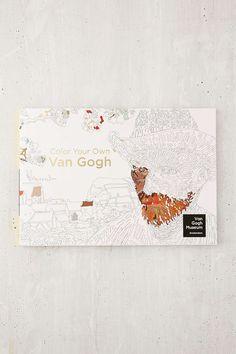 Color Your Own Van Gogh By Van Gogh Museum Amsterdam