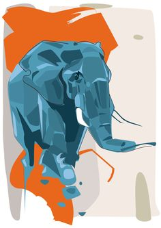 Animal Illustrations by Denis Gonchar Art And Illustration, Illustrations And Posters, Animal Illustrations, Animal Drawings, Art Drawings, Zentangle, Composition Art, Kunst Poster, Elephant Art
