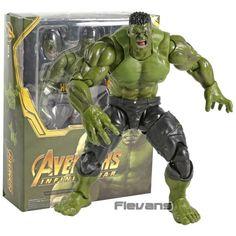 SHF Marvel Action Figures - Hulk box