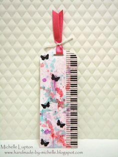 Handmade by Michelle: A Blog Named Hero - It's Not in the Cards!  (bookmark)