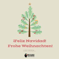 ¡Feliz Navidad! Frohe Weihnachten!  #FelizNavidad #Navidad #Alemania  #FroheWeihnachten