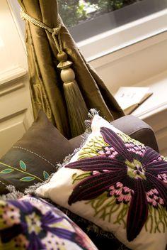 Bedroom detail, 38 St Giles B, Norwich by www.saltinteriors.co.uk Window Dressings, Gift Wrapping, Windows, Interior Design, Restaurants, Salt, Hotels, Bedroom, Detail