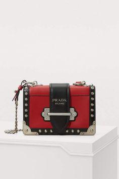 c46fa1f55bafce Prada Mini Cahier crossbody bag Small Crossbody Purse, Clutch Purse, Prada  Cahier Bag,