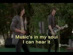 """This is a made music video for """"Play My Music"""" from Camp Rock, with scenes from the movie in it. This video features the Jonas Brothers. It includes the lyrics so … Views: 6951141 Camp Rock, Piano Music, My Music, Music Express Magazine, Movie Songs, Movies, Jonas Brothers, Inspirational Videos, Best Songs"""