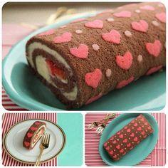 Dolce per San Valentino shabby chic #heart #cake