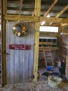 Shabby Olde Potting Shed: Chicken Coop and Barn Makeover Progress