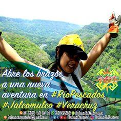 Abre los brazos a una nueva #aventura en #RioPescados #Jalcomulco #Veracruz ☎️OFICINA 01[229] 1508316 📲 WHATSAPP 2291476029 📬 EMAIL turismoenveracruz@gmail.com  🌎http://www.turismoenveracruz.mx #rafting #hospedaje #vacaciones #turismo #hotel #hostal #camping