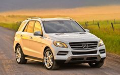 2013 mercedes ml350 Maybe not in white but you get the idea