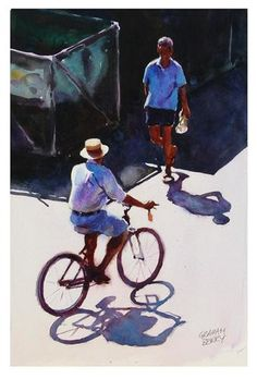 """Good Morning"" - Original Fine Art for Sale - © Graham Berry"