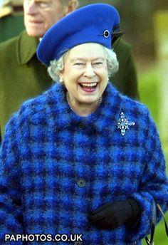 Queen Elizabeth II leaving St. Mary's Church, Norfolk, 2004