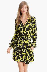 Diane von Furstenberg 'Dora' Silk Faux Wrap Dress