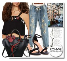 """""""ROMWE6/1"""" by melissa995 ❤ liked on Polyvore"""