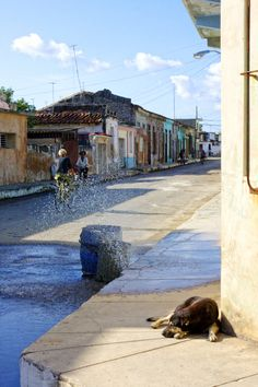 A lazy morning in Cardenas, Matanzas, Cuba