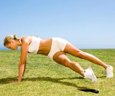Stop Muffin Top: Rockette Plank