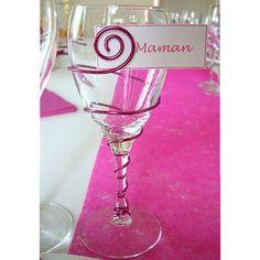 avec fil Aluminium pour table de mariage  déco verre ornement de ...