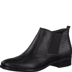 Tamaris-Stiefelette-BLACK-Art.:1-1-25001-25/001