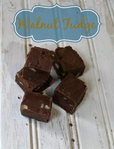 Outnumbered 3 to 1: Walnut Fudge Recipe #HolidayMadeSimple #ad