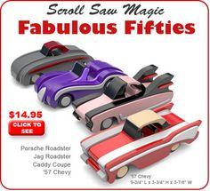 Scroll Saw Magic Fabulous Fifties Wood Toy Plan Set