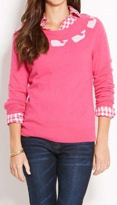 Cute! And PINK vineyard vines sweater Love it