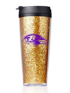 Baltimore Ravens Coffee Tumbler