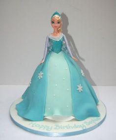 Elsa Cake from Frozen