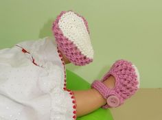 Baby Easy Lace Stitch Sandals