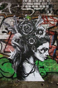 Graffiti art by Monsieur Qui (Eric Lacan) in London #street #art