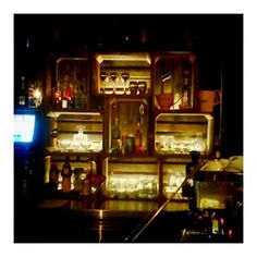 Assembly Bar - recycled/rustic/industrial interior