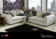 This sofa looks amazing!