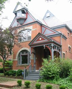House in German Village, Columbus, Ohio