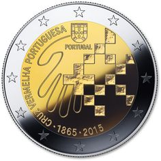 2 Euro 2015 150 Years of Red Cross in Portugal Commemorative