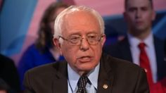 Sanders says Trump should tell his supporters to stop the violence at rallies.