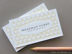 Sadie Olive Business Card By Sara Duckett I Love The Colors