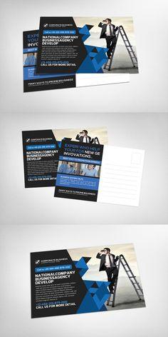 Marketing business postcard template business postcards template marketing business postcard template wajeb Gallery