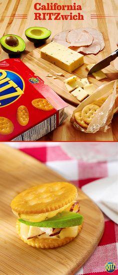 Cream cheese cracker spread appetizers with cream