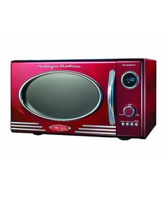 Take a look at this Red Retro Series Microwave Oven by Nostalgia Electrics on #zulily today!