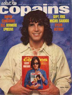 Salut les Copains magazine (France), January 1973 (Julien Clerc)