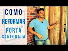 Porta Sanfonada - Como Reformar - YouTube