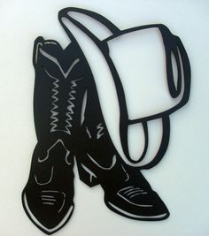 Cowboy Metal Art