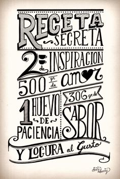 Dirty Harry - Receta You can find Frases inspiradoras and more on our website. Mr Wonderful, Le Chef, Chalkboard Art, Stencils, Letters, Sayings, Words, Decoupage, Printables