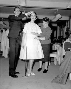 yves saint laurent, 1958