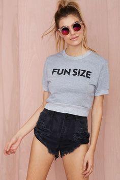Fun Size Crop