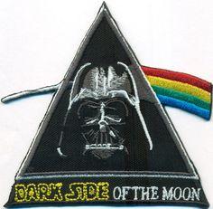 DARKSIDE of The Moon Darth Vader Star Wars Uniform Kostüm Patch Aufnäher Abzeich