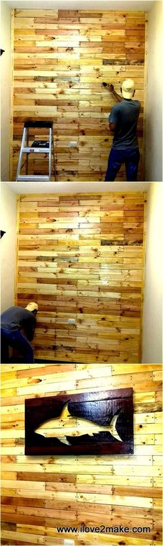 Best Indoor Garden Ideas for 2020 - Modern Wooden Pallet Wall, Pallet Crates, Pallet Walls, Pallet Fence, Old Pallets, Recycled Pallets, Wooden Fence, Wooden Pallets, Woodworking Projects Diy